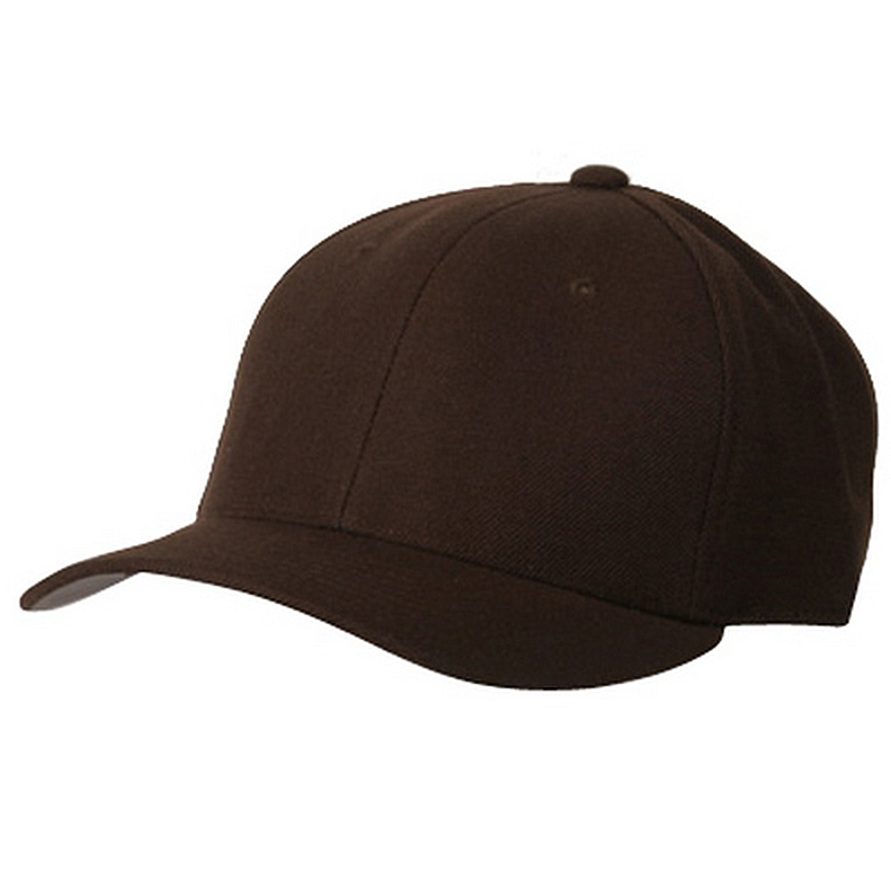 Fitted Cap-Brown - Hats and Caps Online Shop - Hip Head Gear