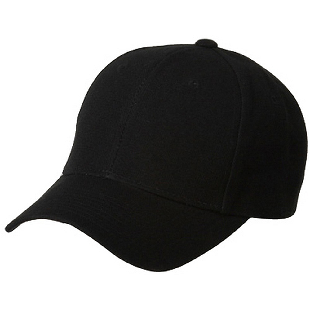 Fitted Cap-Black - Hats and Caps Online Shop - Hip Head Gear