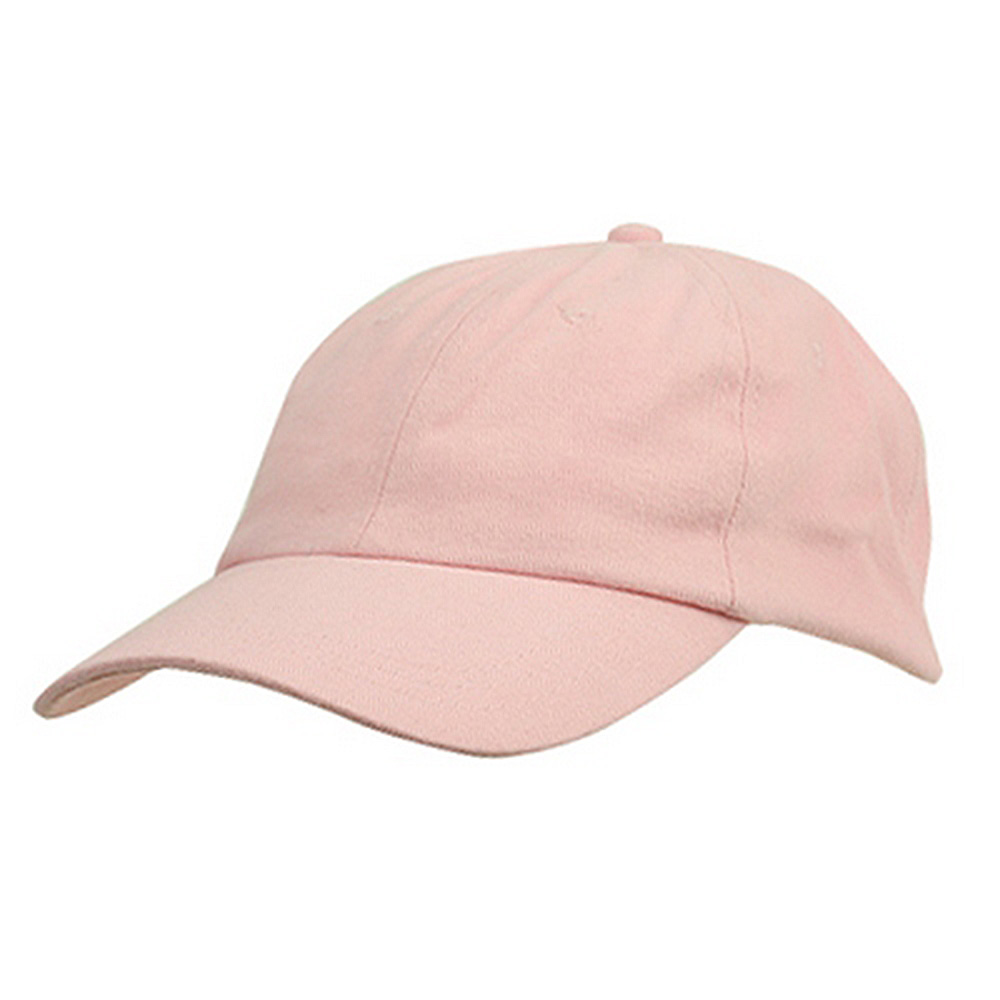 6 Panel Light Cotton Cap / Pink - Hats and Caps Online Shop - Hip Head Gear
