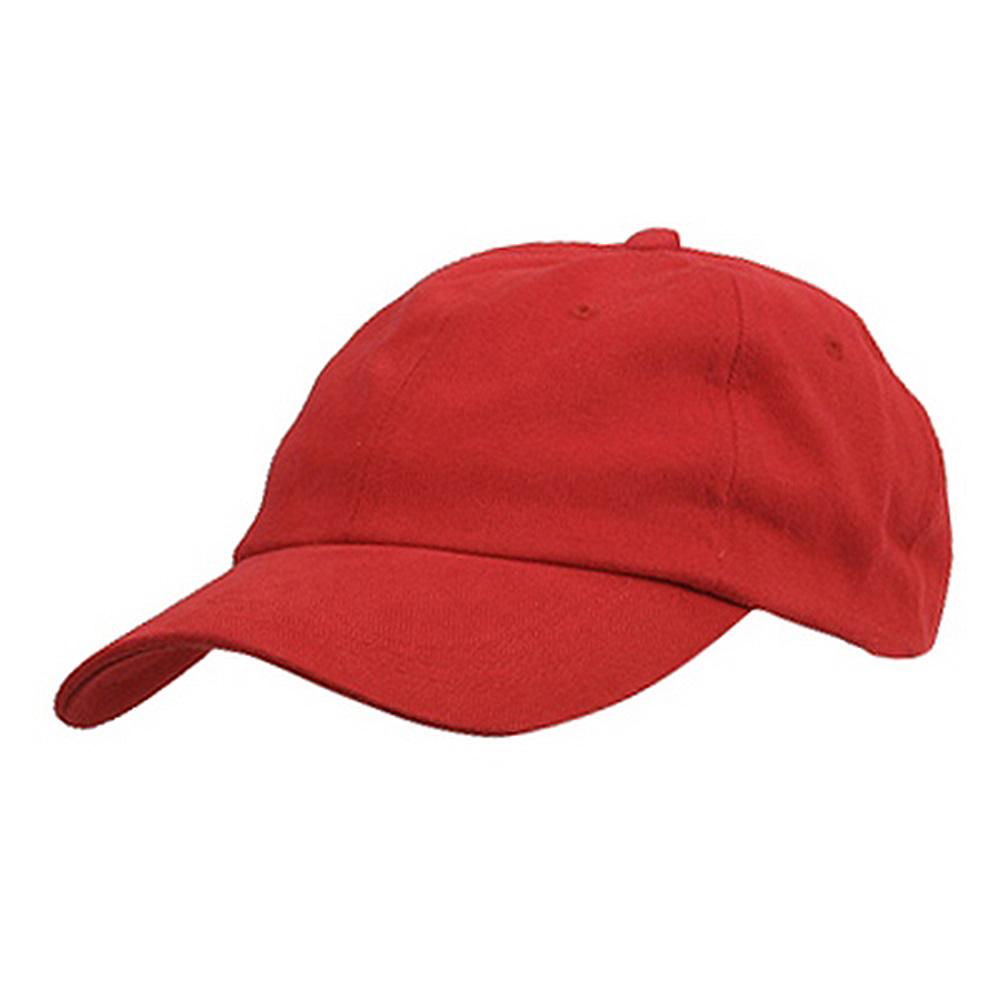 6 Panel Light Cotton Cap / Red - Hats and Caps Online Shop - Hip Head Gear