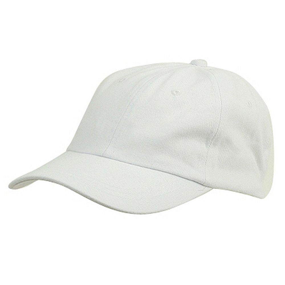 6 Panel Light Cotton Cap / White - Hats and Caps Online Shop - Hip Head Gear
