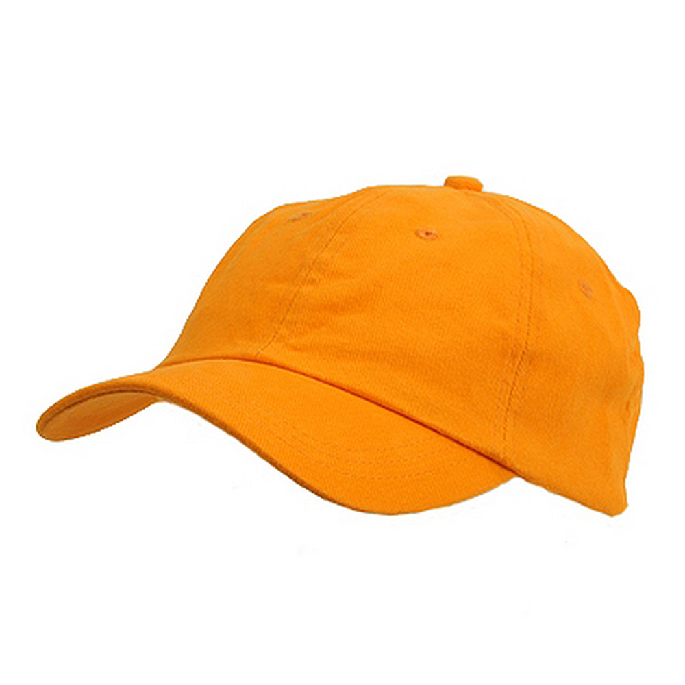 6 Panel Light Cotton Cap / Orange - Hats and Caps Online Shop - Hip Head Gear