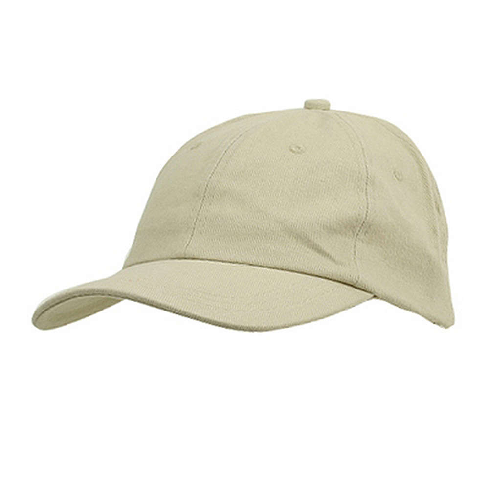 6 Panel Light Cotton Cap / Sand - Hats and Caps Online Shop - Hip Head Gear