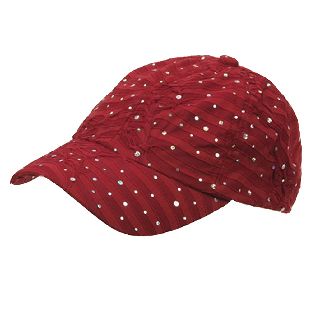 Glitter Caps-Wine - Hats and Caps Online Shop - Hip Head Gear