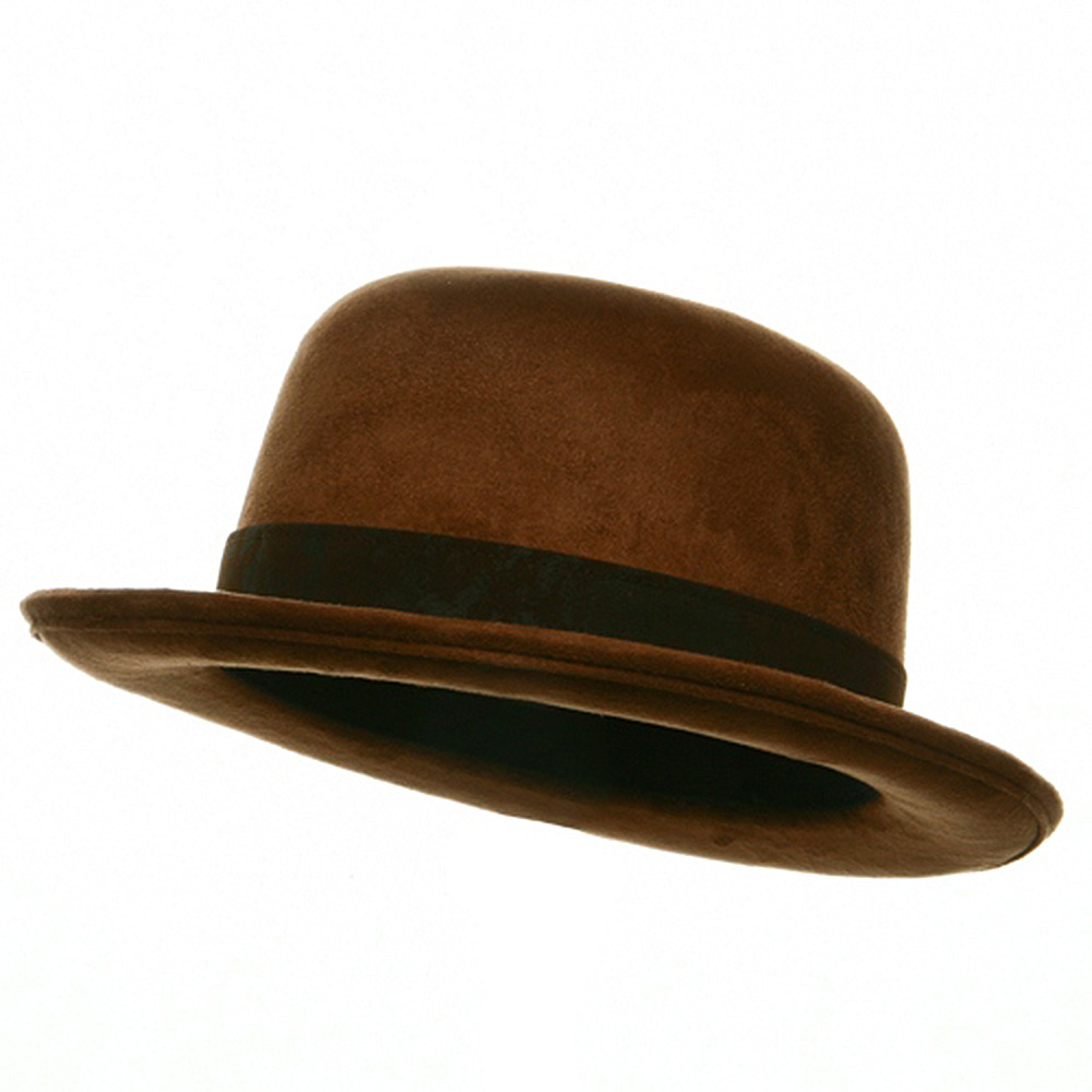 Top Hat - Bowler Brown - Hats and Caps Online Shop - Hip Head Gear