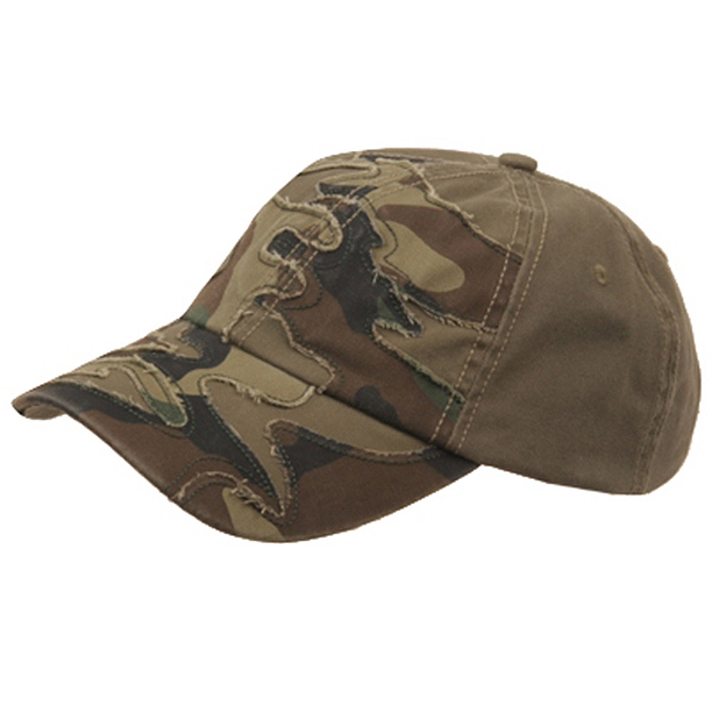 Patched Enzyme Cap-Green Camo - Hats and Caps Online Shop - Hip Head Gear
