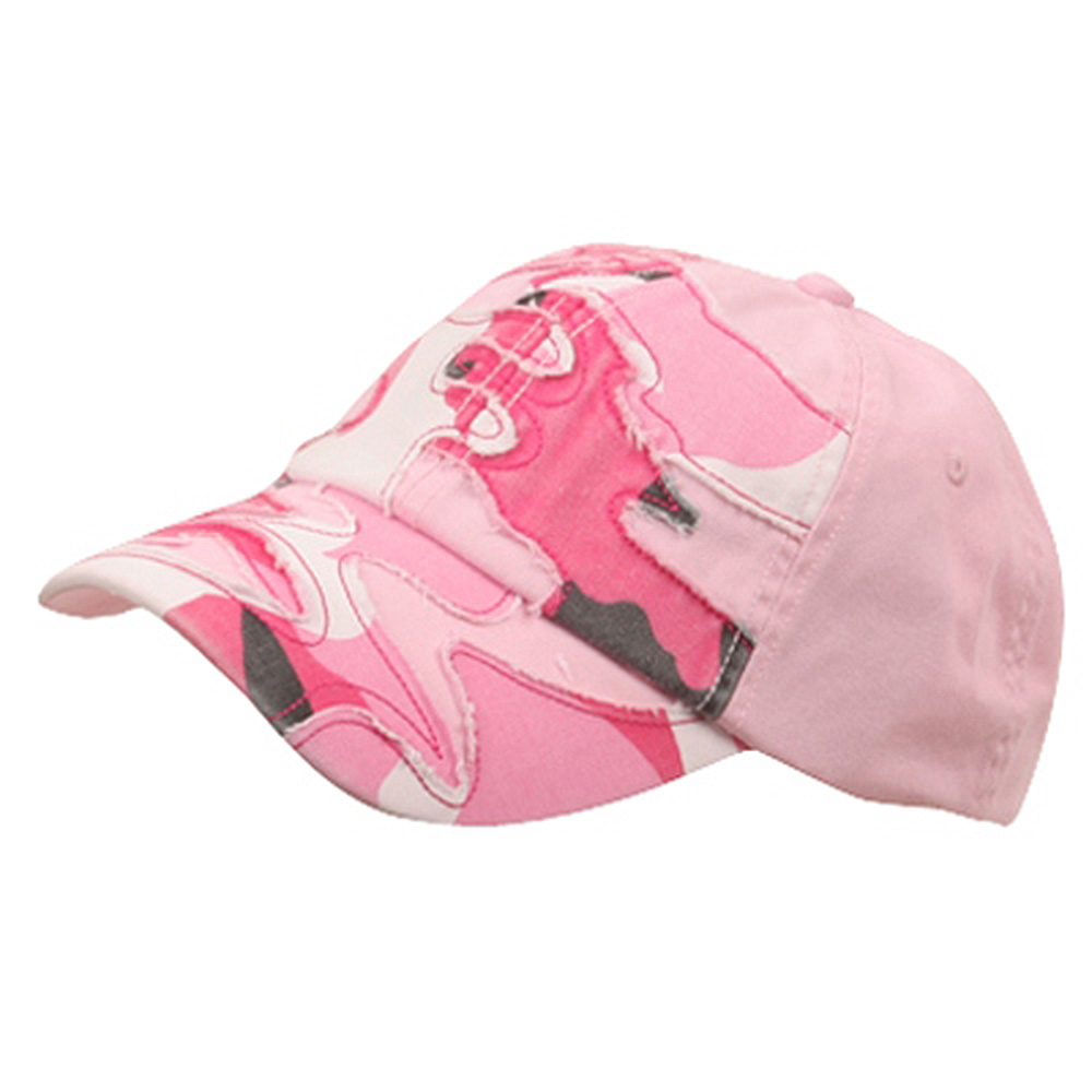 Patched Enzyme Cap-Pink Camo - Hats and Caps Online Shop - Hip Head Gear