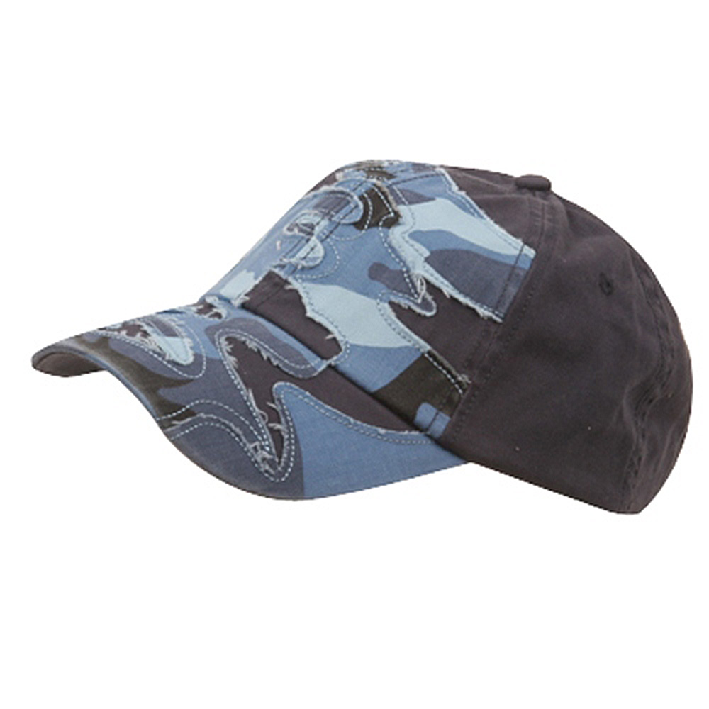 Patched Enzyme Cap-Sky Camo - Hats and Caps Online Shop - Hip Head Gear