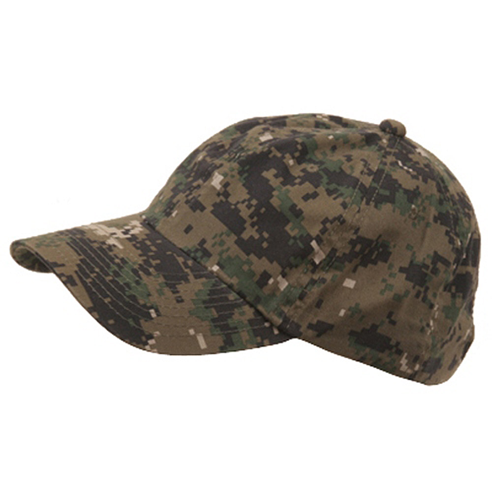 Unstructured Digital Camo Cap-Olive - Hats and Caps Online Shop - Hip Head Gear