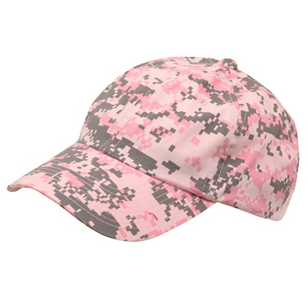 Unstructured Digital Camo Cap-Pink - Hats and Caps Online Shop - Hip Head Gear