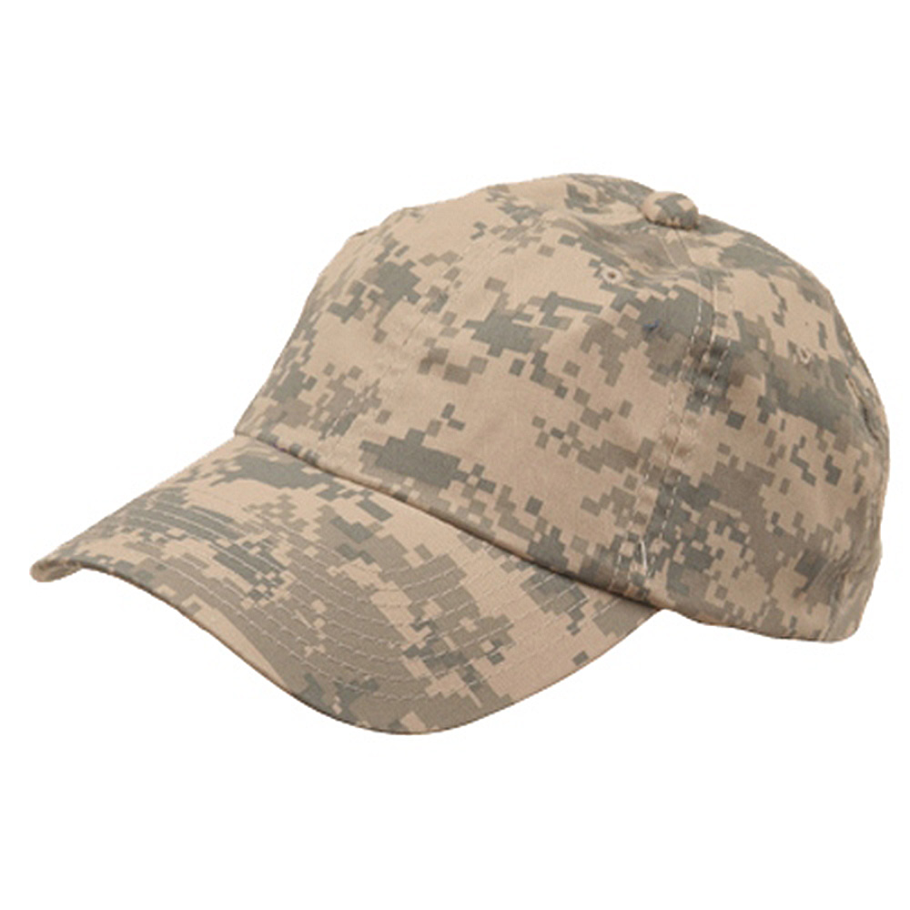 Unstructured Digital Camo Cap-Tan - Hats and Caps Online Shop - Hip Head Gear