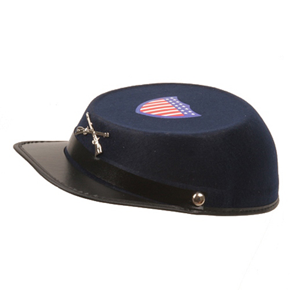 Permafelt Confederate Cap-Navy - Hats and Caps Online Shop - Hip Head Gear