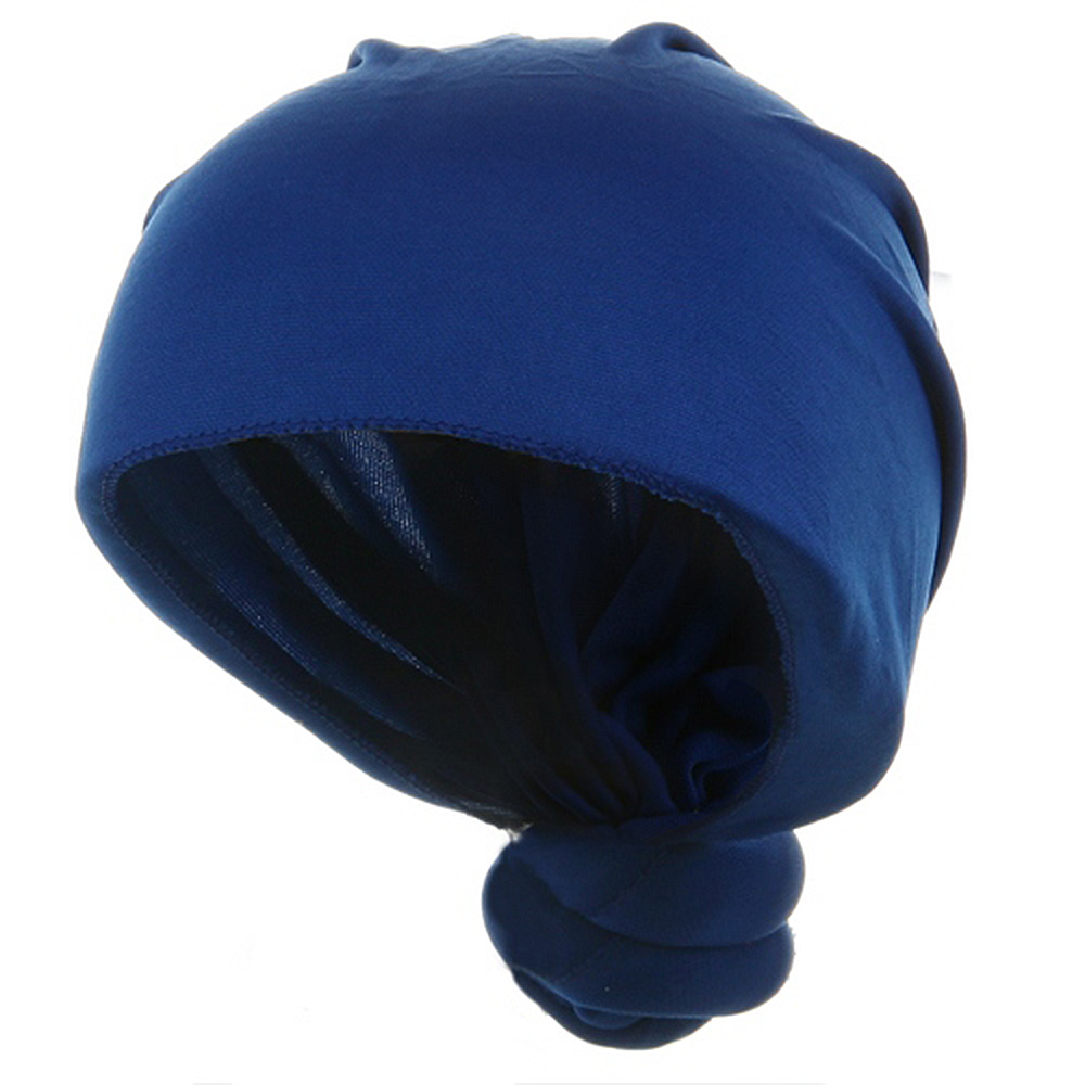 Handmade Knotted Wrap-Royal - Hats and Caps Online Shop - Hip Head Gear