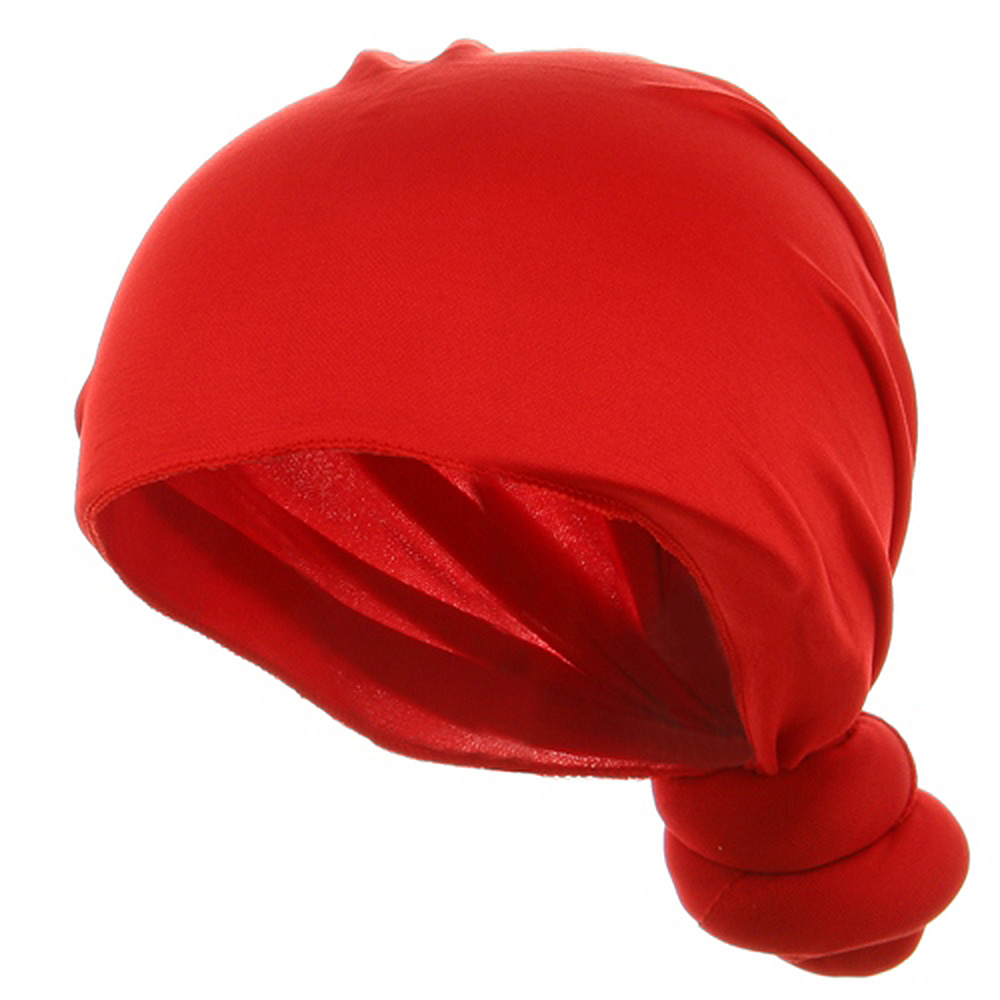 Handmade Knotted Wrap-Red - Hats and Caps Online Shop - Hip Head Gear