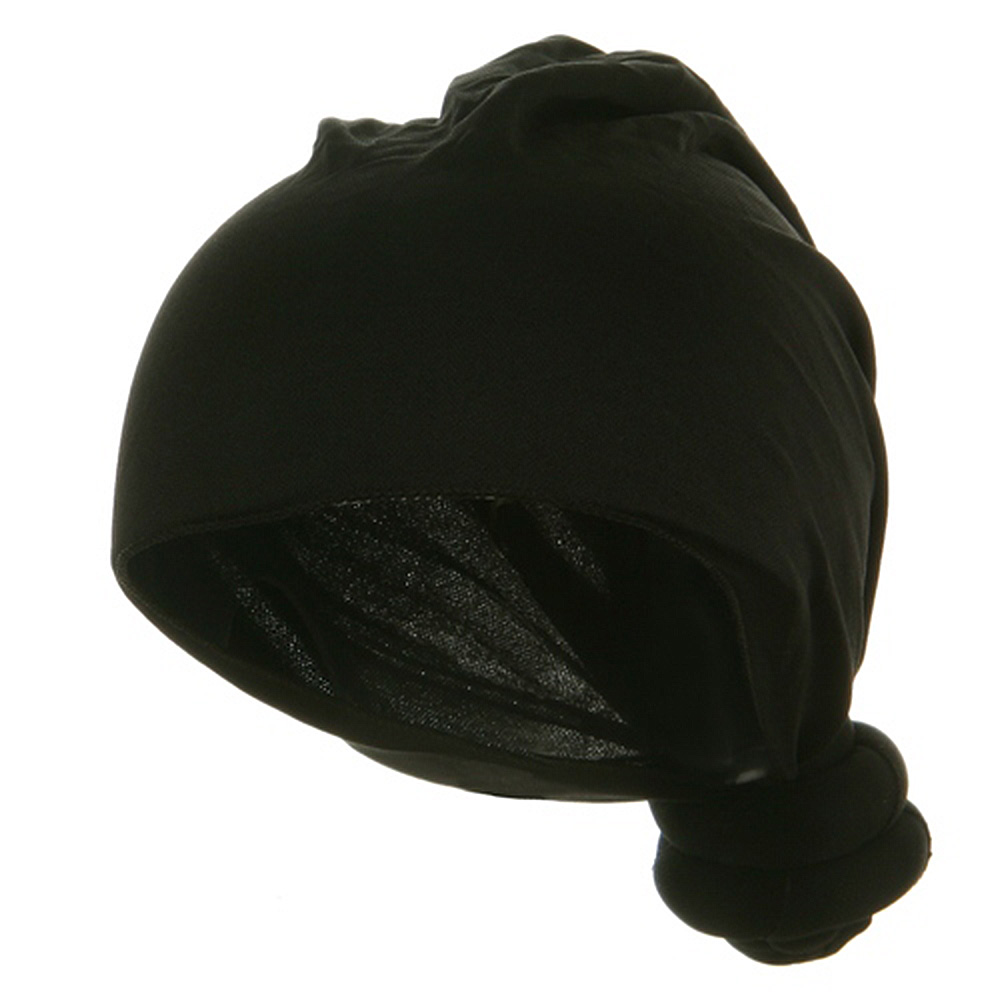 Handmade Knotted Wrap-Black - Hats and Caps Online Shop - Hip Head Gear