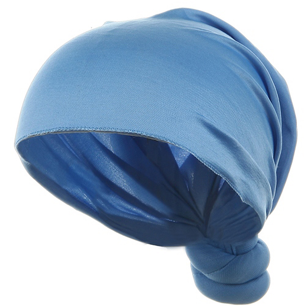 Handmade Knotted Wrap-Sky - Hats and Caps Online Shop - Hip Head Gear