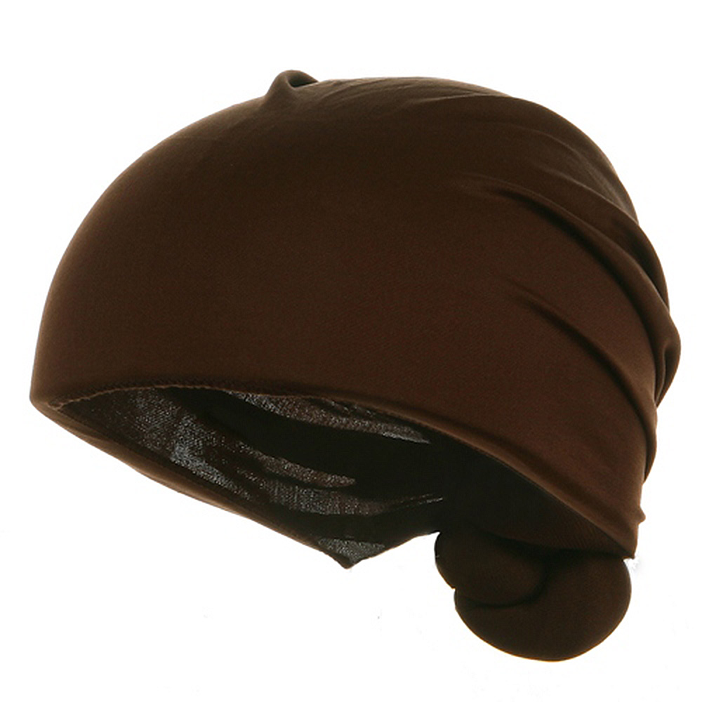 Handmade Knotted Wrap-Brown - Hats and Caps Online Shop - Hip Head Gear