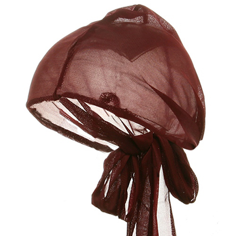 Large Satin Wrap-Maroon - Hats and Caps Online Shop - Hip Head Gear