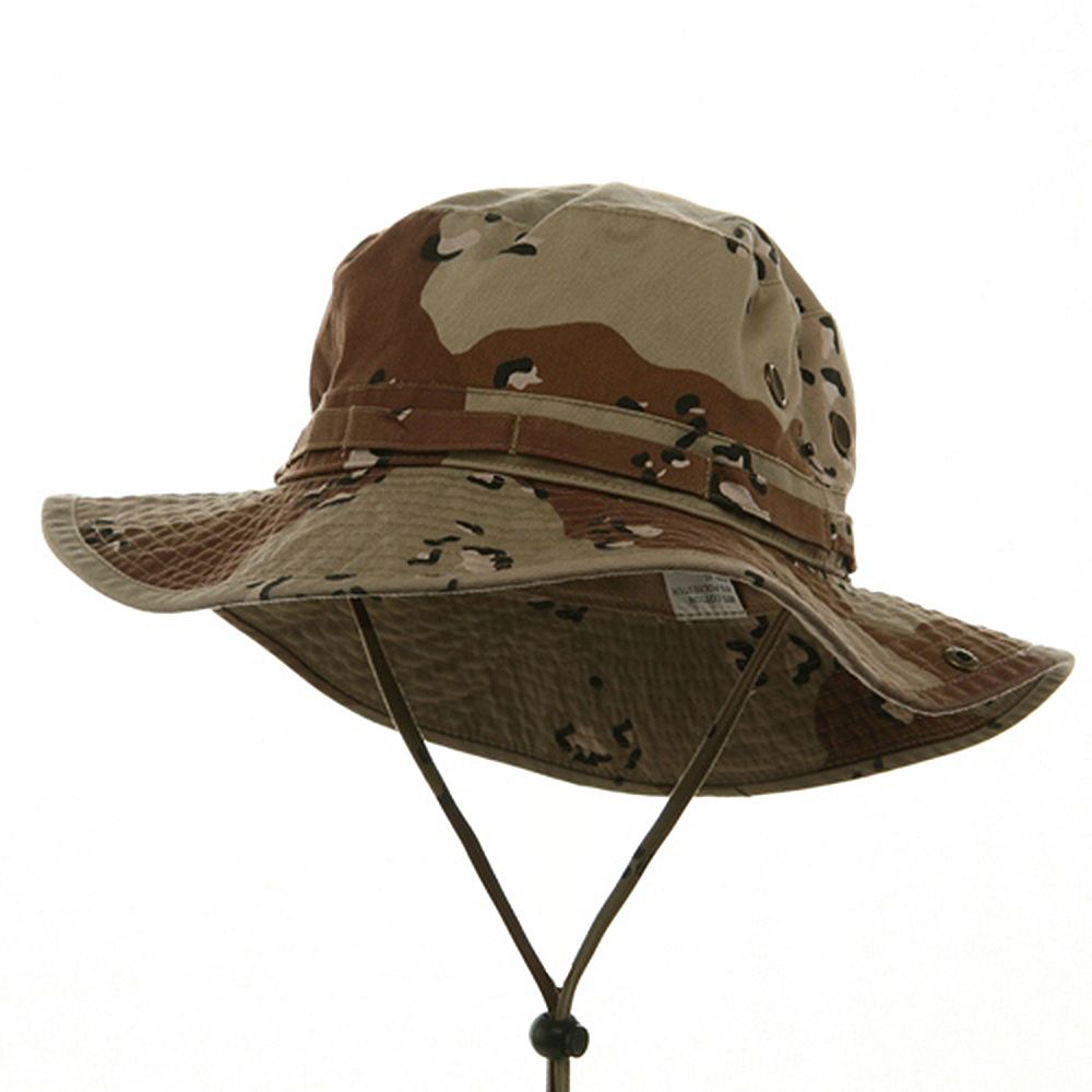 Big Size Washed Hunting Hats-Desert - Hats and Caps Online Shop - Hip Head Gear