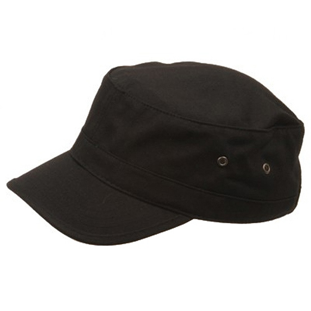 Kid's Trendy Army Cap-Black - Hats and Caps Online Shop - Hip Head Gear