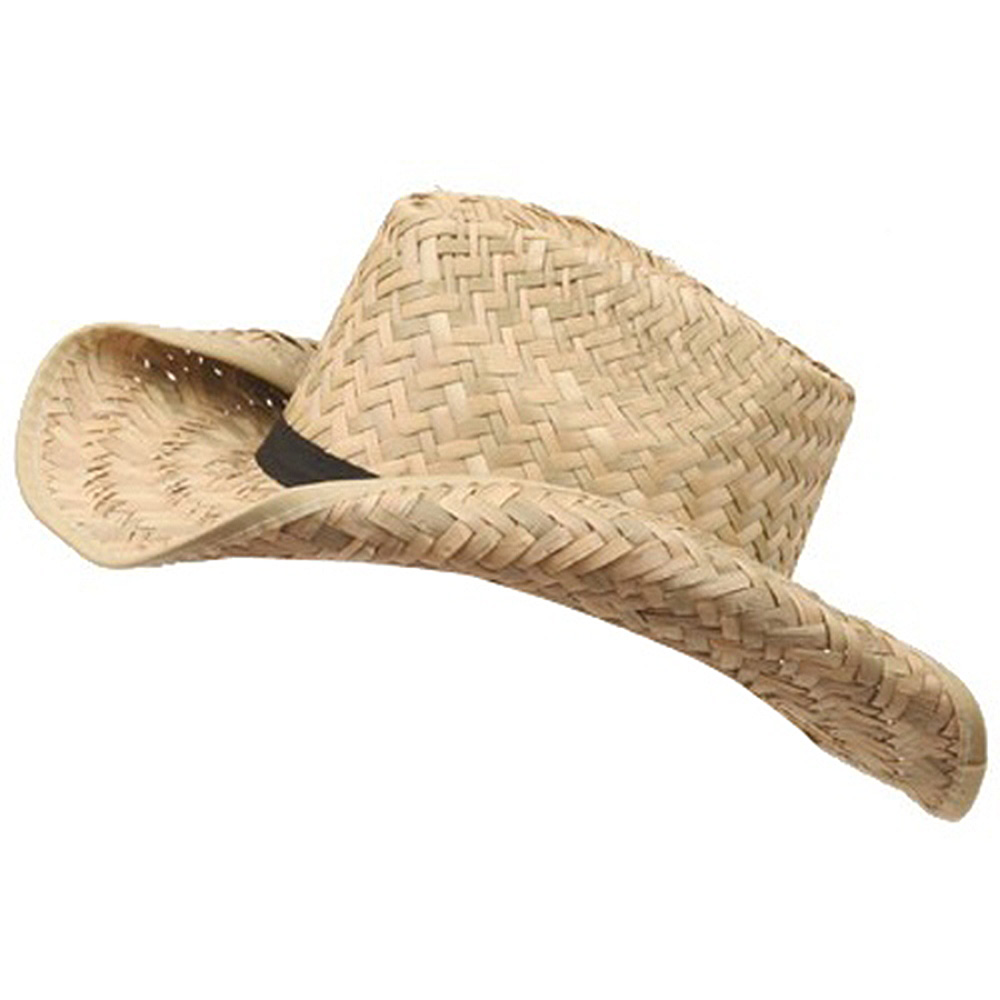 child's cowboy straw hat (02)-natural - Hats and Caps Online Shop - Hip Head Gear