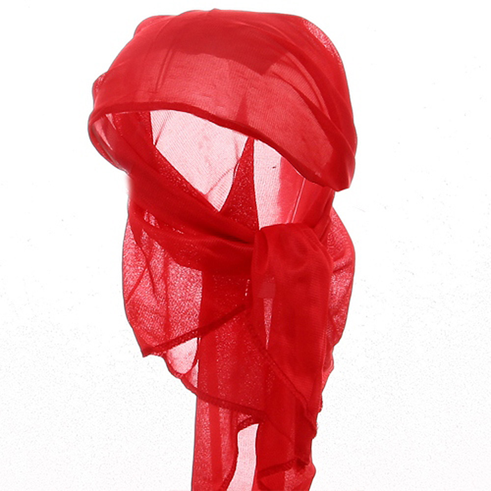 Satin Triangle Wrap-Red - Hats and Caps Online Shop - Hip Head Gear
