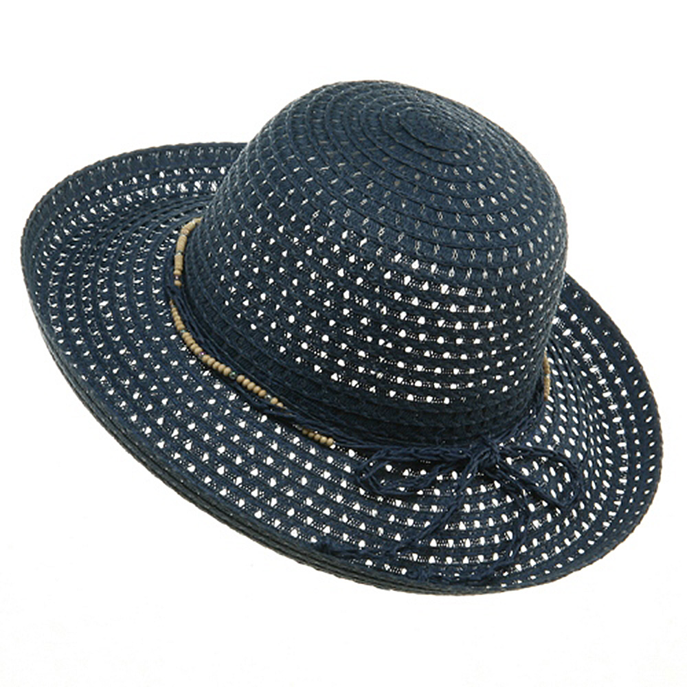 Sewn Braid Toyo Hats-Navy - Hats and Caps Online Shop - Hip Head Gear