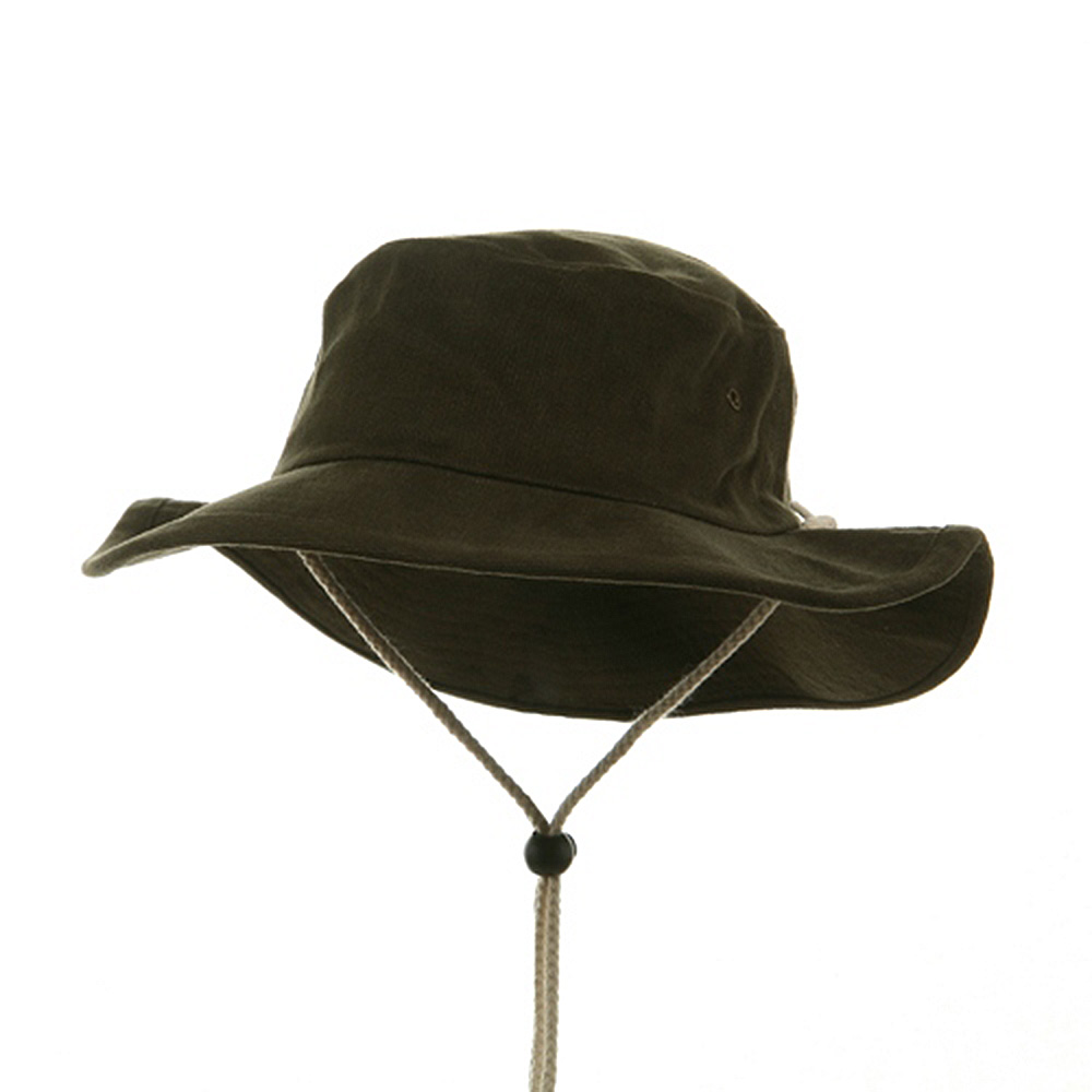 Australian Hat - Olive - Hats and Caps Online Shop - Hip Head Gear