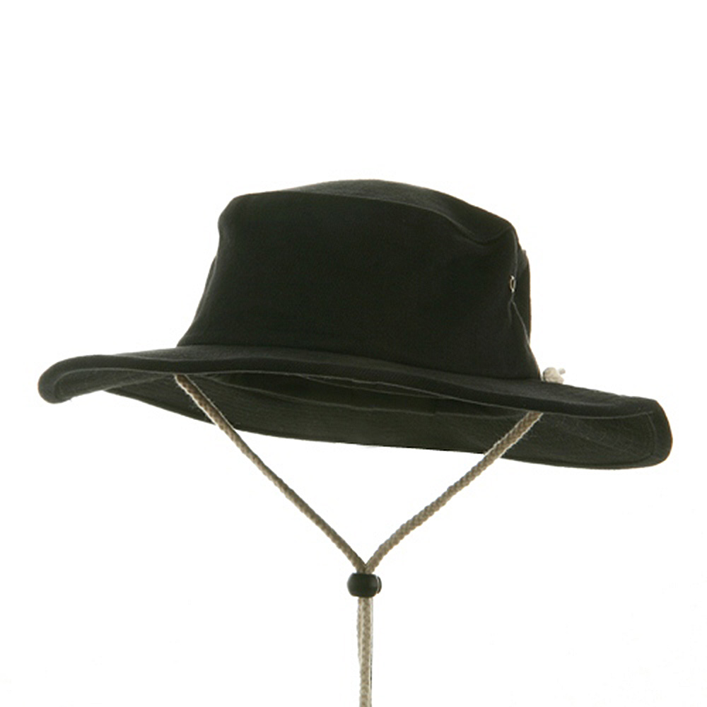 Australian Hats-Black - Hats and Caps Online Shop - Hip Head Gear