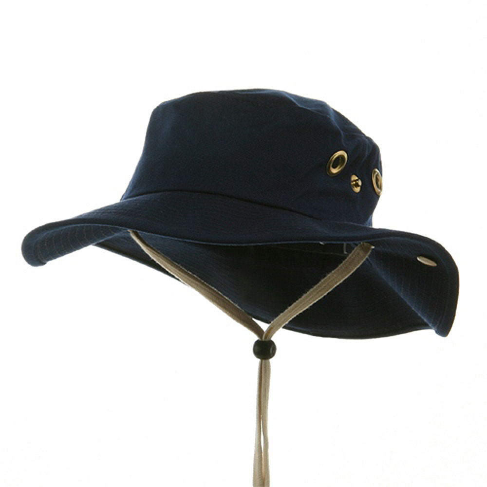 Canvas Outdoor Hat-Navy - Hats and Caps Online Shop - Hip Head Gear