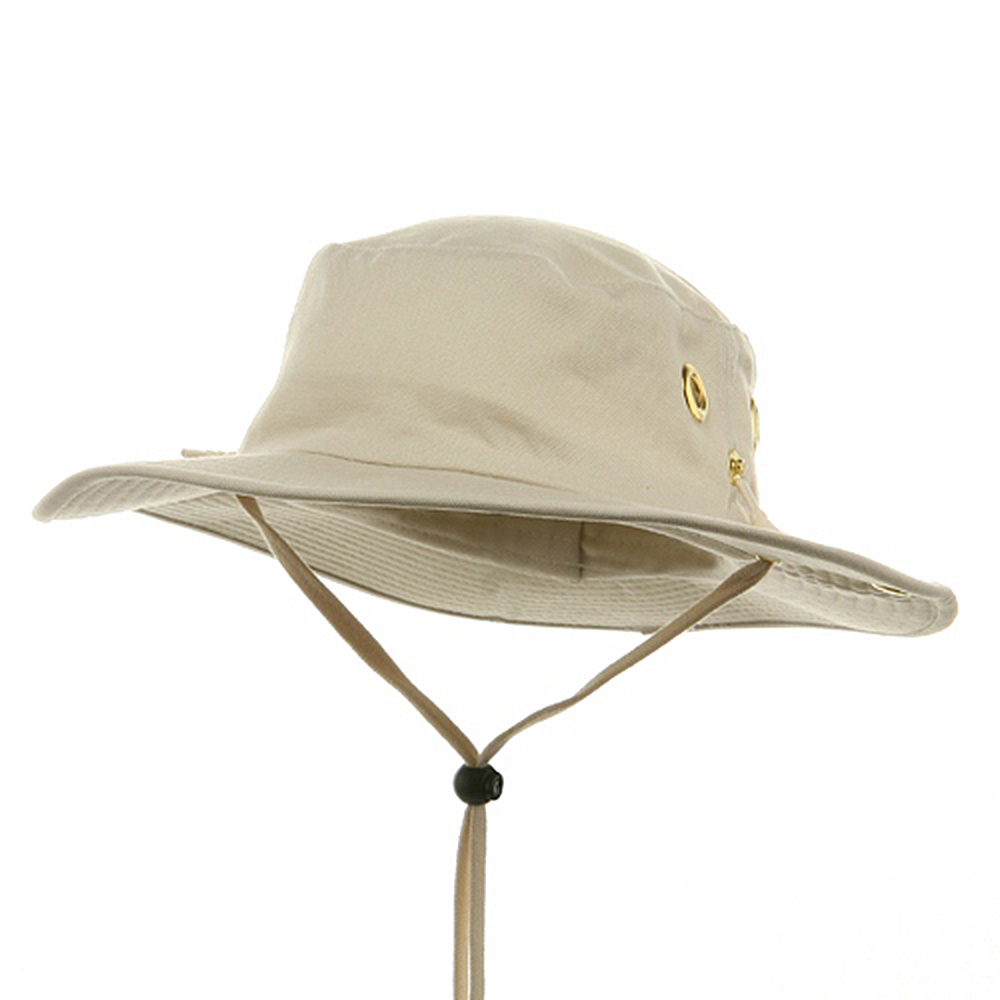 Canvas Outdoor Hats-Stone - Hats and Caps Online Shop - Hip Head Gear