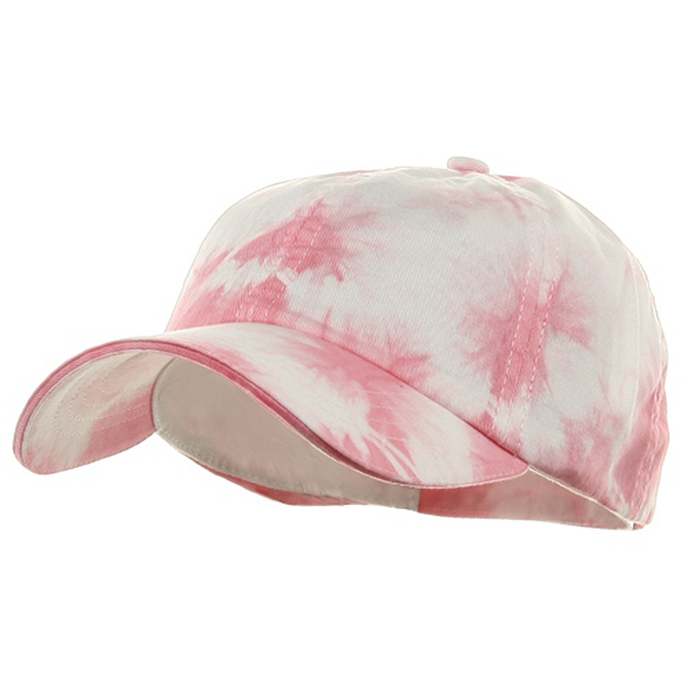 Low Profile Tie Dyed Cap-Pink - Hats and Caps Online Shop - Hip Head Gear