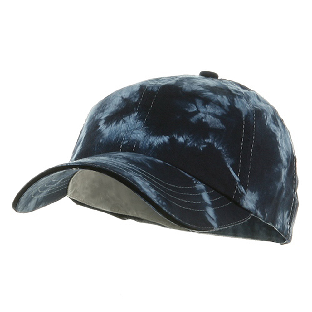 Low Profile Tie Dyed Cap-Navy - Hats and Caps Online Shop - Hip Head Gear