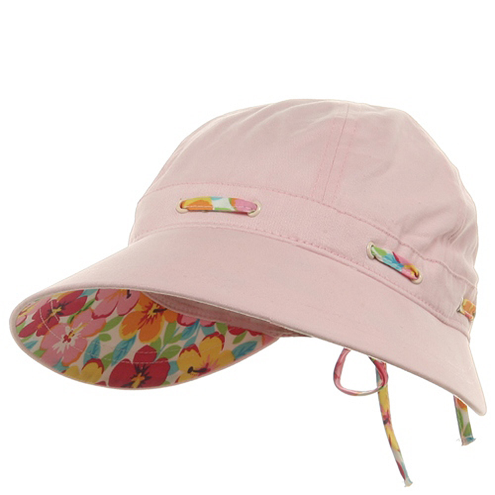 Peach Finish Ladies Cap-Lt Pink - Hats and Caps Online Shop - Hip Head Gear