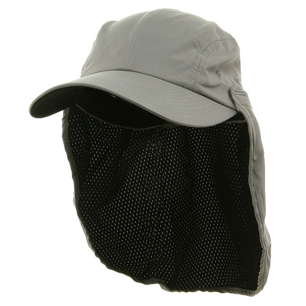 Microfiber Flap Hats-Grey - Hats and Caps Online Shop - Hip Head Gear