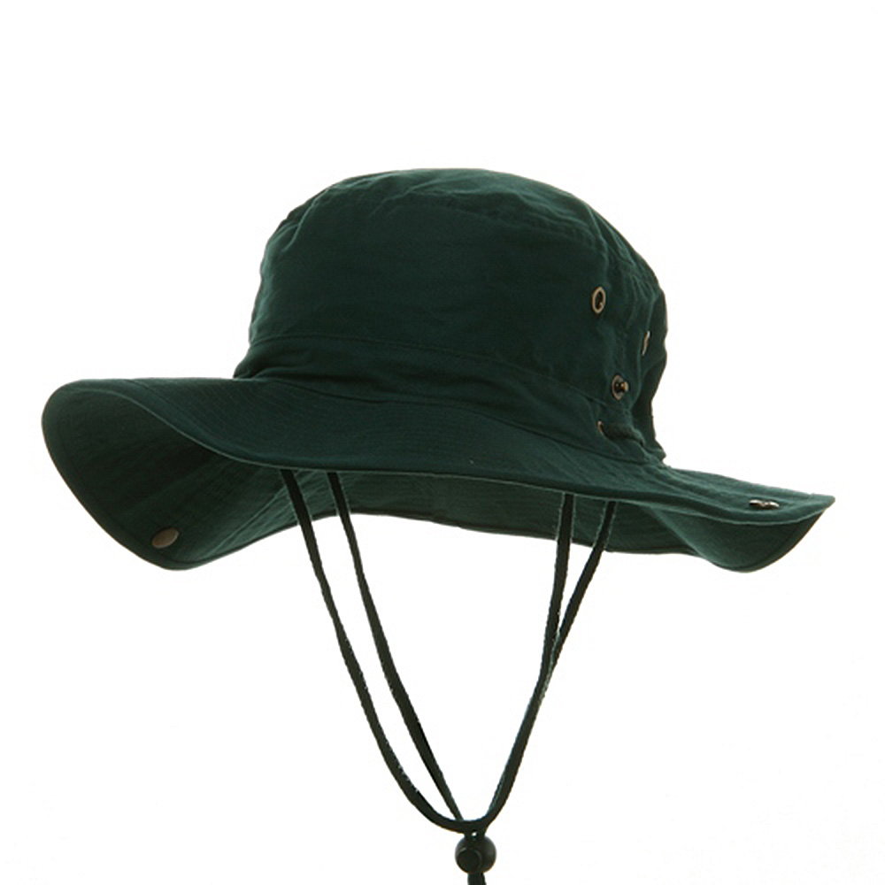 Fishing Hat (01)-Dk Green - Hats and Caps Online Shop - Hip Head Gear