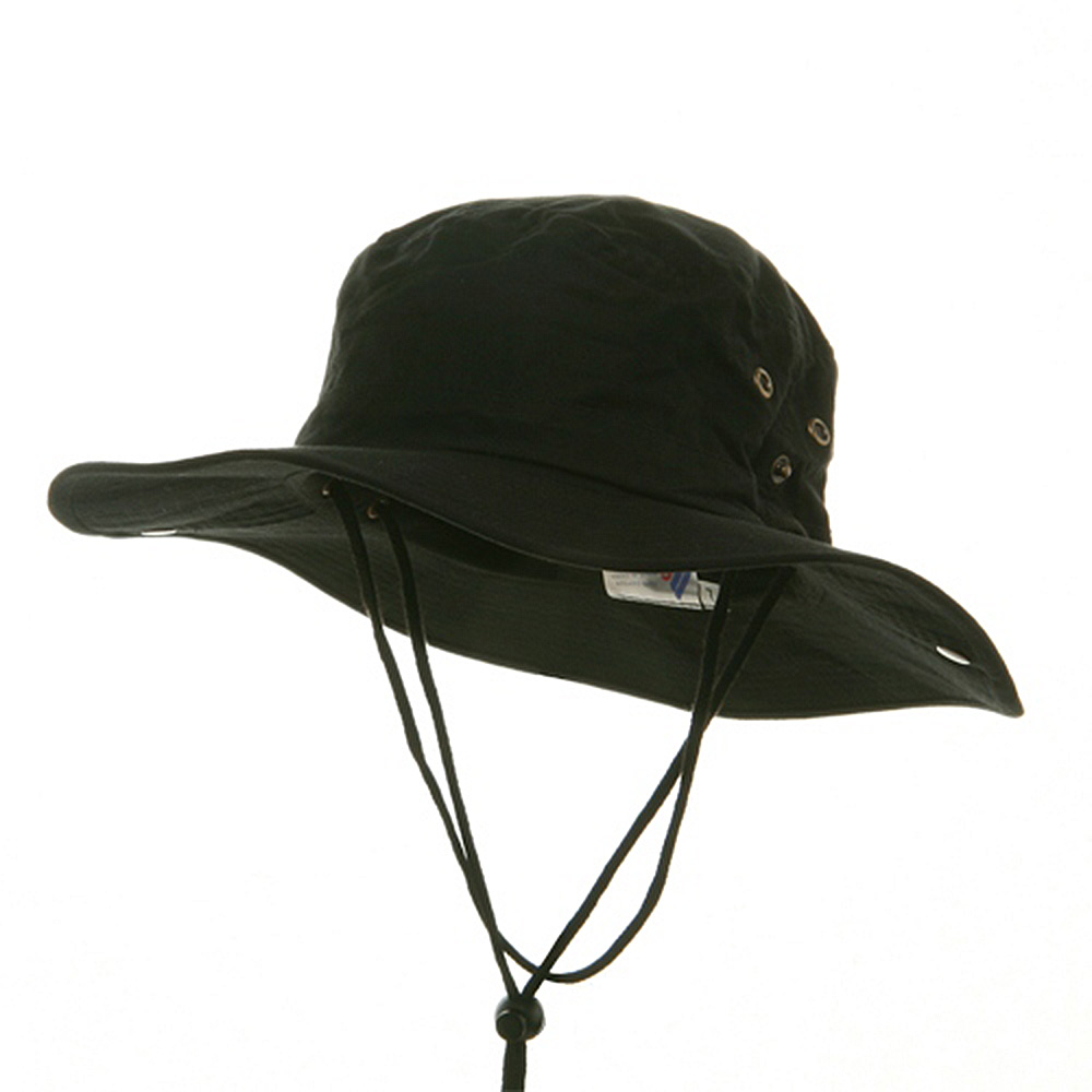 Fishing Hat (01)-Black - Hats and Caps Online Shop - Hip Head Gear