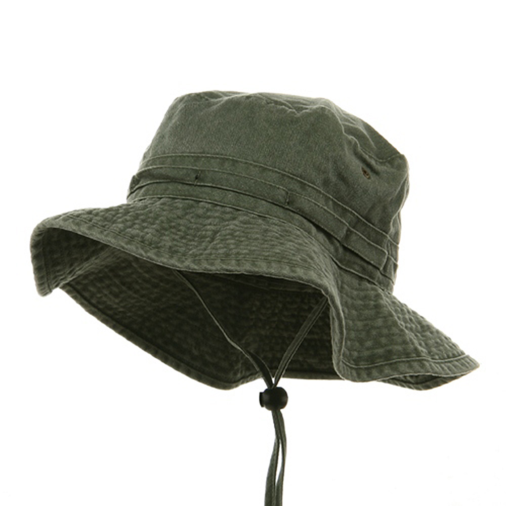 Fishing Hat (02)-Olive - Hats and Caps Online Shop - Hip Head Gear