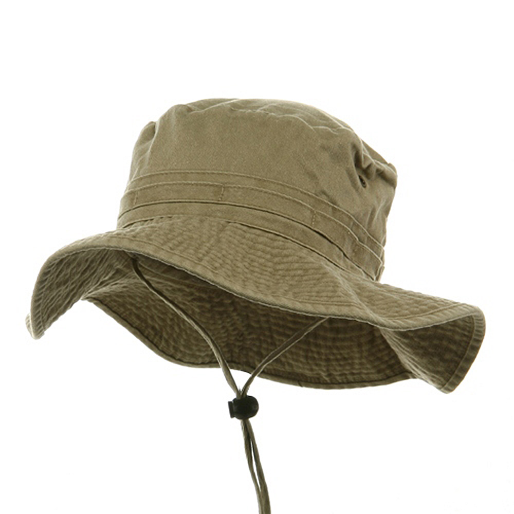 Fishing Hat (02)-Khaki - Hats and Caps Online Shop - Hip Head Gear