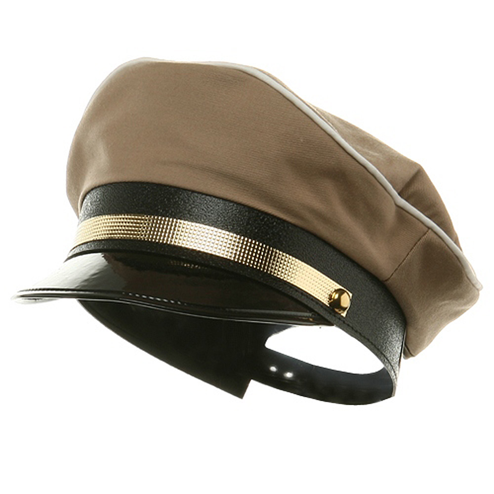 Military Hat-Tan - Hats and Caps Online Shop - Hip Head Gear