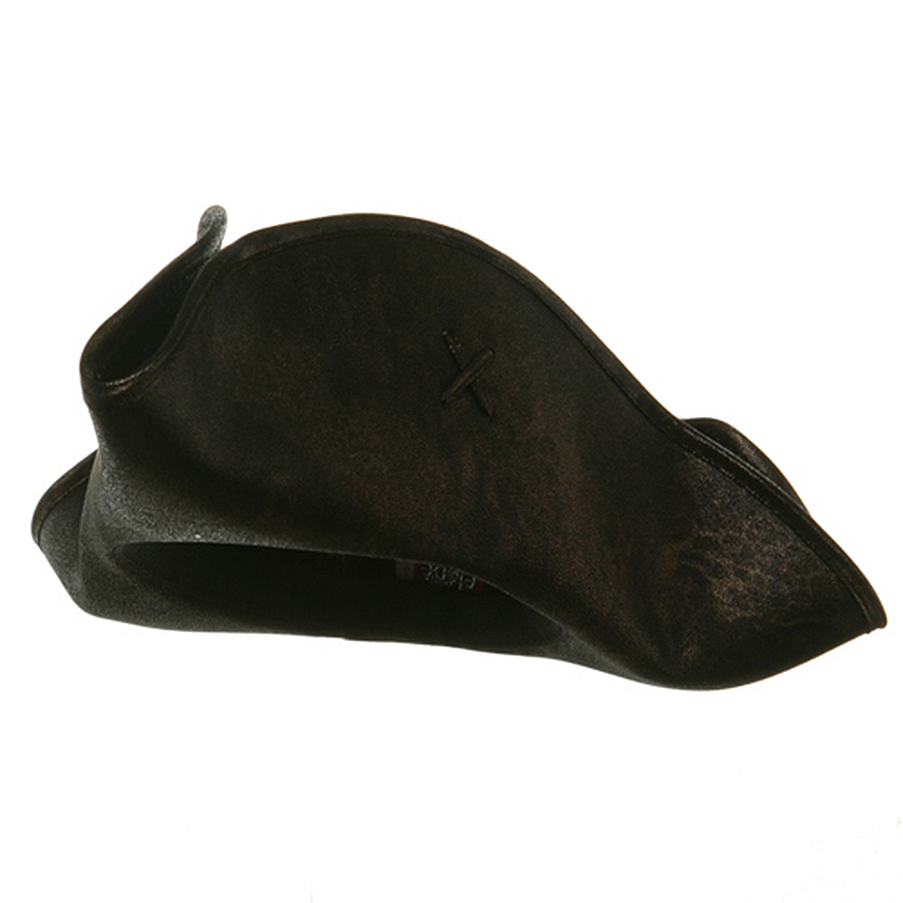 Scallywag Pirate Hat -Black - Hats and Caps Online Shop - Hip Head Gear