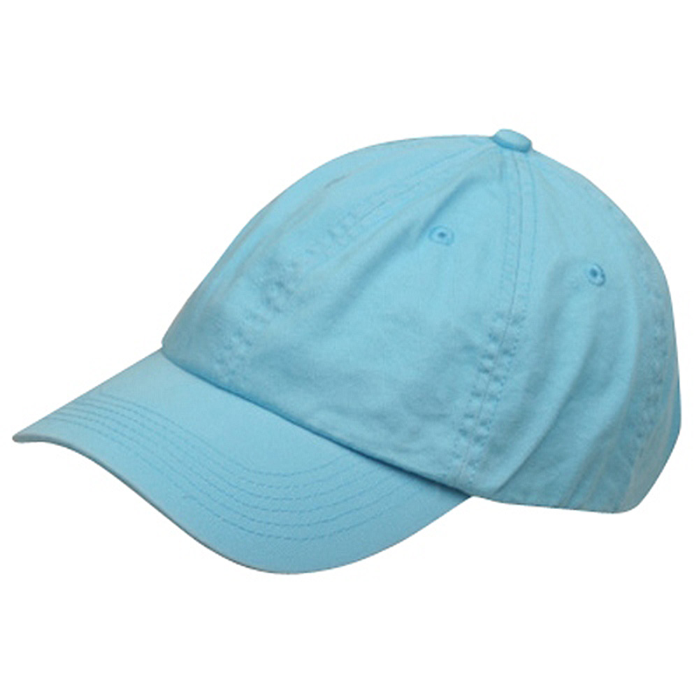 Youth Washed Chino Twill Cap-Blue - Hats and Caps Online Shop - Hip Head Gear