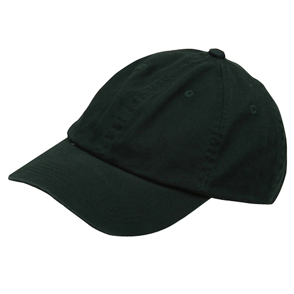 Youth Washed Chino Twill Cap-Dk Green - Hats and Caps Online Shop - Hip Head Gear