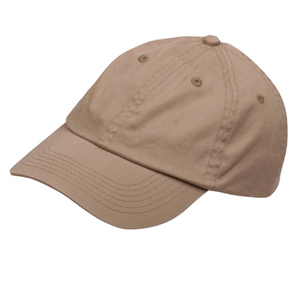 Youth Washed Chino Twill Cap-Khaki - Hats and Caps Online Shop - Hip Head Gear