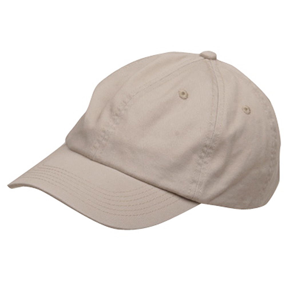 Youth Washed Chino Twill Cap-Stone - Hats and Caps Online Shop - Hip Head Gear