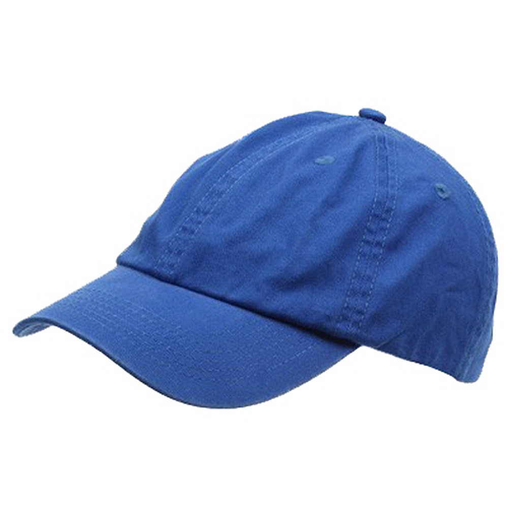 Youth Washed Chino Twill Cap-Royal - Hats and Caps Online Shop - Hip Head Gear