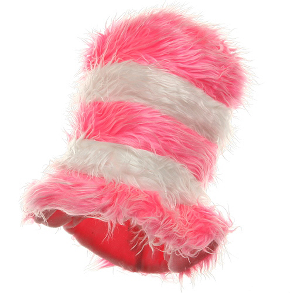 Furry Kool Kat Hat-Pink and White - Hats and Caps Online Shop - Hip Head Gear