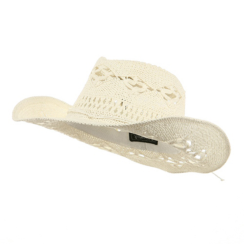 Ladies Outback Shape Hat-White - Hats and Caps Online Shop - Hip Head Gear