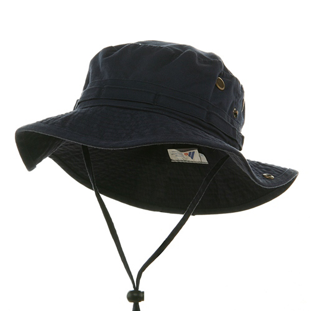 Washed Hunting Hat-Navy - Hats and Caps Online Shop - Hip Head Gear