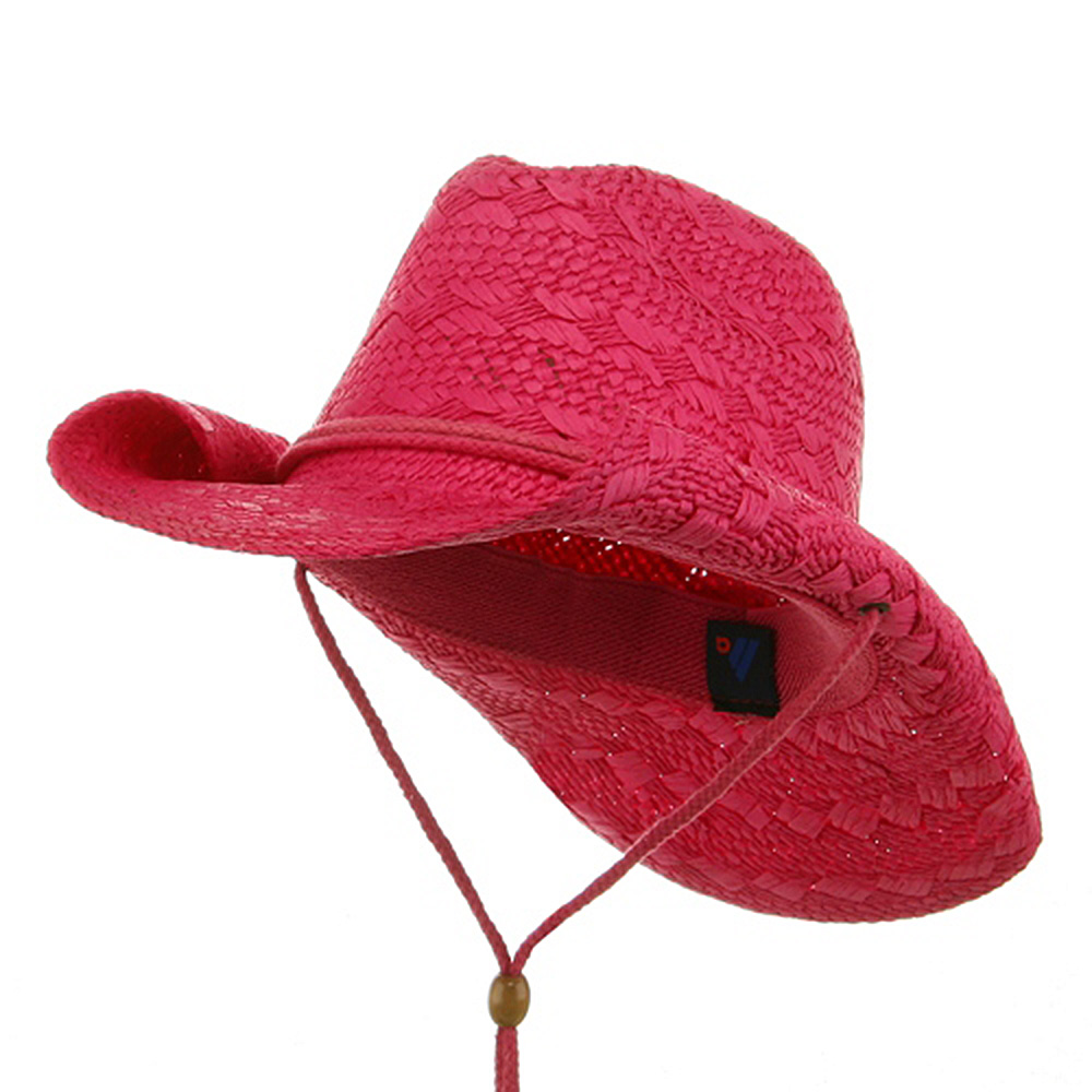 Ladies Toyo Cowboy Hat - Fuchsia - Hats and Caps Online Shop - Hip Head Gear